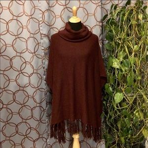 Forever 21 Loose Turtleneck Poncho Size S/M